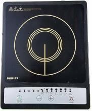 Philips HD-4920 1500-Watt Induction Cooktop(Black, Push Button)