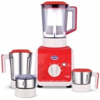 Elgi Vario Plus 750 W Juicer Mixer Grinder Red