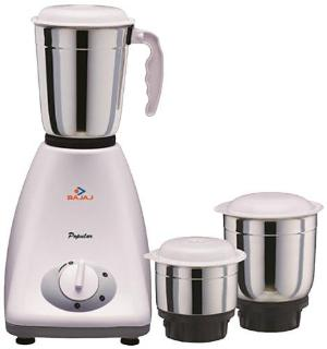Bajaj Popular 450 Mixer Grinder (3 Jars)