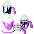 Crompton Greaves TD71 750 W 3 Jars Mixer Grinder White & Purple