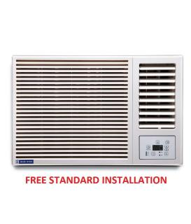 Blue Star 1.5 Ton 5 Star 5W18GA Window Air Conditioner White(2016-17 BEE Rating) Free Standard Installation