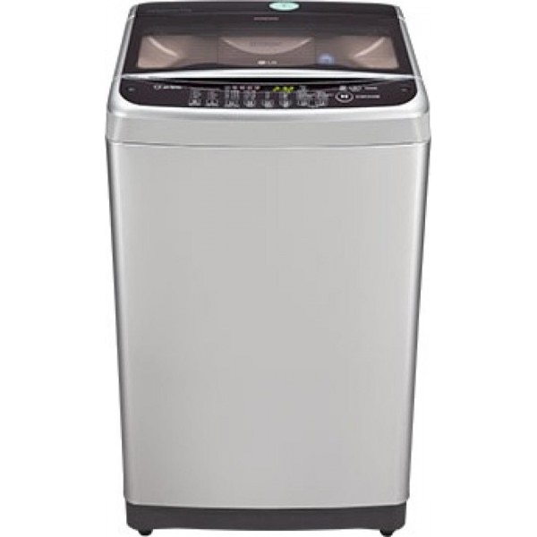 lg t8068teely 7 kg fully automatic top load washing machine silver