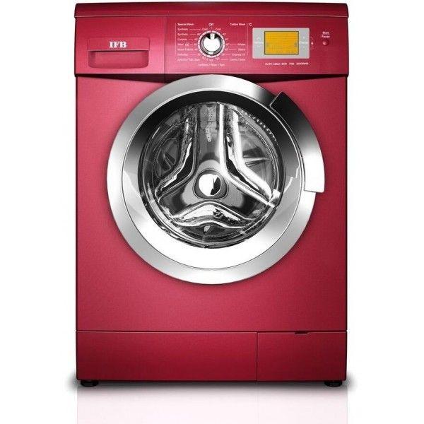 Ifb Elite Aqua Sxr Fully Automatic Washing Machine Red