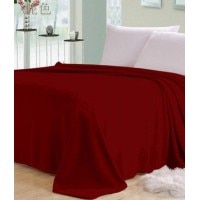 5750d42bfd Shopgalore Plain Double blanket Red 1 blanket
