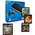 Sony Playstation 3 (500GB) with 3 Games & GTA V Playstation 3