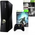 Microsoft Xbox 360 250 जीबी with Halo 4, Tomb Raider (Black)