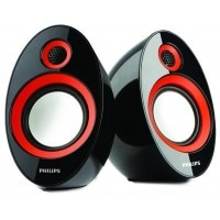Philips IN-SPA60 Speakers Red