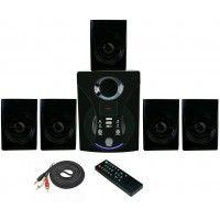 Vsure VHT-5010BT 5.1 Channel Bluetooth Speaker Black