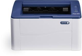 Xerox PH 3020 Single Function Wireless Monochrome Printer(White, Toner Cartridge)