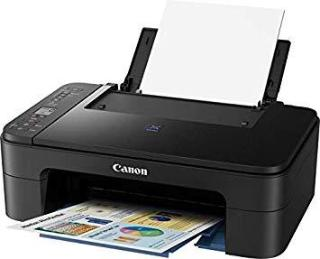 Canon Pixma E3177 All in One Inkjet Printer (Black)