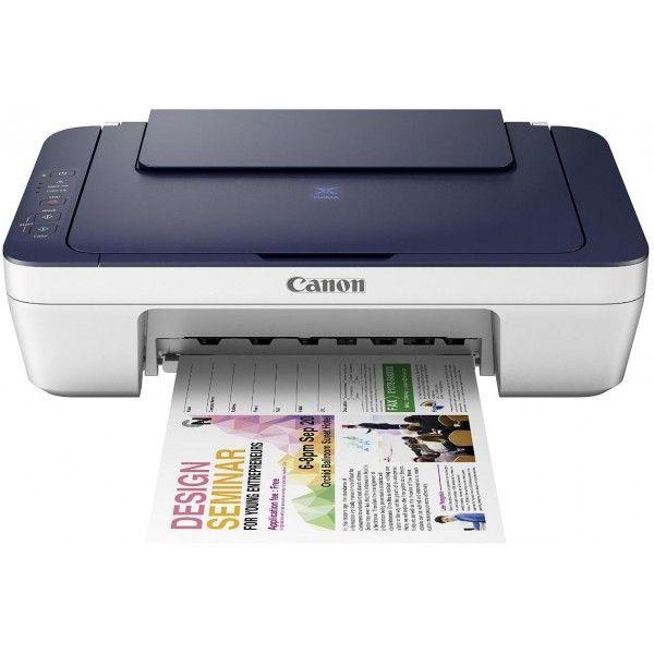 Canon Pixma Mg2577s All In One Inkjet Printer Blue Amp White
