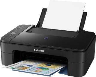 Canon Pixma E3177 Multi-function Wireless Printer(Black, Ink Cartridge)