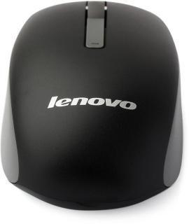 Lenovo N100 Wireless Optical Mouse(USB, Black)