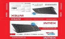 Intex Multimedia Keyboard (Black)