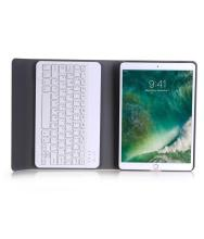 Aluminum Wireless Bluetooth Keyboard + Leather Case For Apple For iPad Pro 10.5