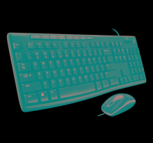 Logitech mk200 USB Keyboard & Mouse Combo With Wire