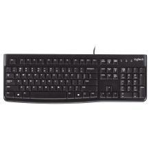 Logitech K120 Wired Keyboard (Black)