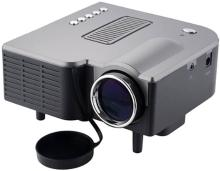 Unic UC 28+ Black Portable Projector(Black)