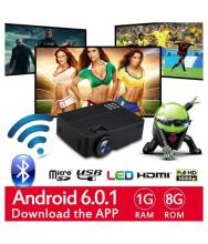 Omex 4K ANDROID WIFI LED Projector 1920x1080 Pixels (HD)
