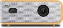 PIQS Q1 Portable Projector(White)