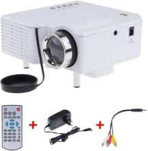VNEXX UC28+ HD original unic-uc28+projector Portable Projector(White)