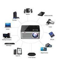 I Kall LCD Projector Model T200 (1920x1080 Pixels HD)