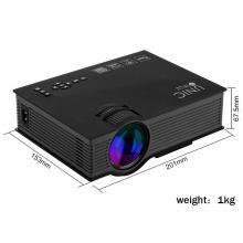 UNIC 2018 UC46 Mini Full hd LED WiFi Projector 1200 lumi HDMI Airplay DLAN