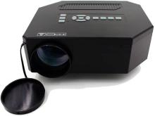 Style Maniac Watching TV On A Home Theater Projector Portable Projector(Black)