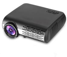 PLAY LED Projector Home Beamer NPP0CAAAA FULL HD with 3d Glasses Portable Projector(Black)