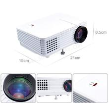 ooze Punnkk P5 800Lmns Portable Mini LED LCD Projector for Home Cinema Theater (Multicolour)