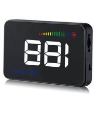 Excelvan A500 Car HUD Projector Head-Up Display Speeding Warning Fuel Feat
