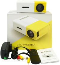 Tricoloursales YG-300 Portable Projector(Yellow, White)