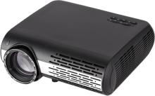 PLAY LED Projector Home Beamer FULL HD with 3d Glasses Portable Projector(Black & White)