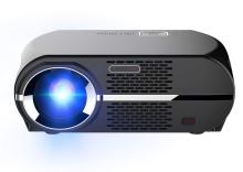 Wowoto GP100 LED Projector LCD 3500 Lumens , WXGA Resolution 1280x800 Pixels with Remote Control