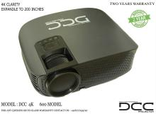 DCC PROJECTORS 4K LED Projector UHD (Projection Size Upto 200 Inches)