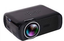 Punnkk P7 Plus 1800 LED Multimedia Full HD 1080P With Miracast, HDMI, VGA, USB, AV/TV Ports Black Portable Projector(Black)