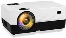 Mezire X LED with HDMI,VGA,AV, Portable Projector(Multicolor)