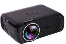 Style Maniac HD X-Series Home Cinema Support Red & Blue 3D Format X7+ 1800 Lumen 1-Year Warranty Portable Projector(Black)