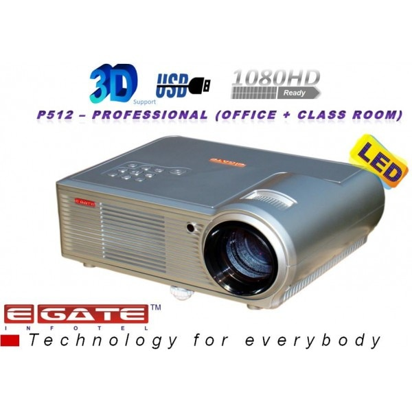 P512 Egate Led Projector