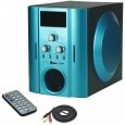 Vsure VHT1002 Wired Speakers Green