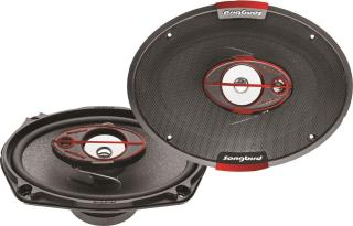 Songbird 6'X9' Oval 550W Max 3 Way SB-B69-76 Coaxial Car Speaker(550 W)